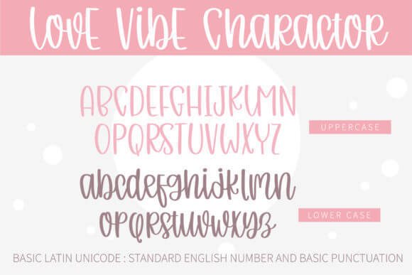 Love Vibe Font