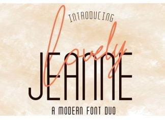 Lovely Jeanne - Script Font