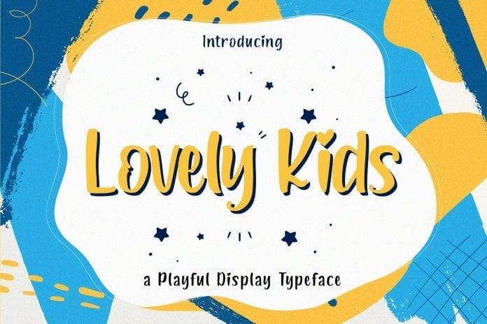 Lovely Kids - Playful Font