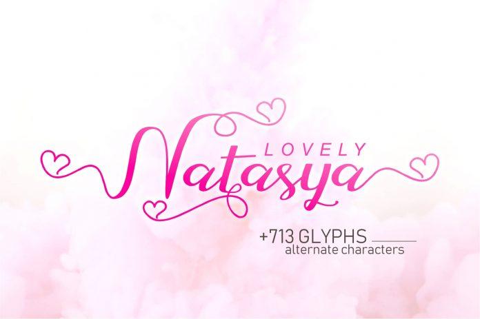 Lovely Natasya Font
