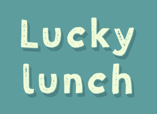 Lucky Lunch Font Family