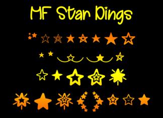 MF Star Dings Font