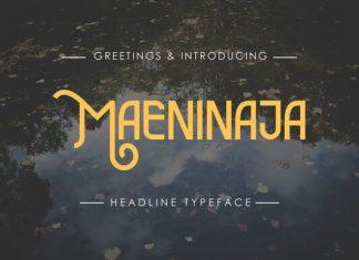 Maeninaja Font