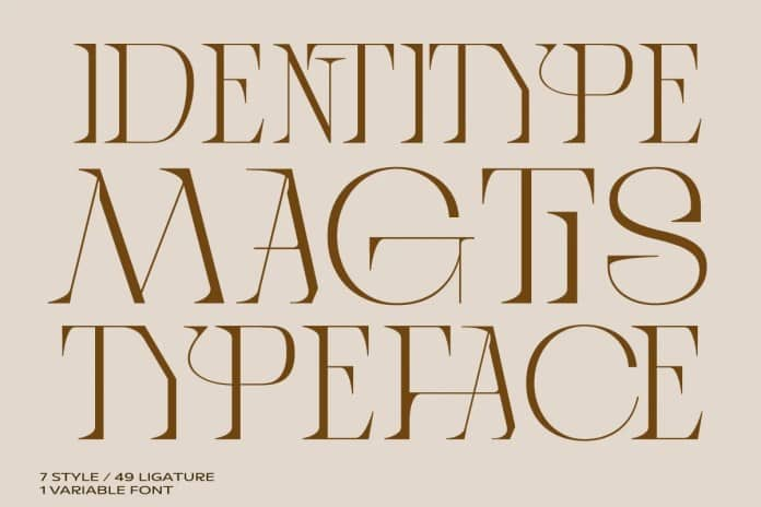 Magtis Serif Font