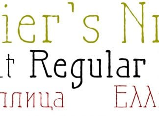Maiers Nr21 Pro Font Family