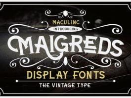 Maigreds Font