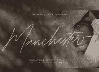 Manchester - Signature Script Typeface Font