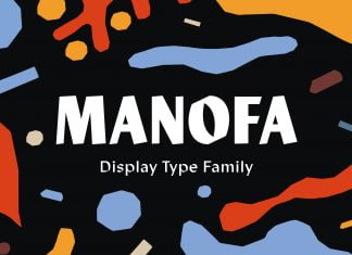 Manofa Font