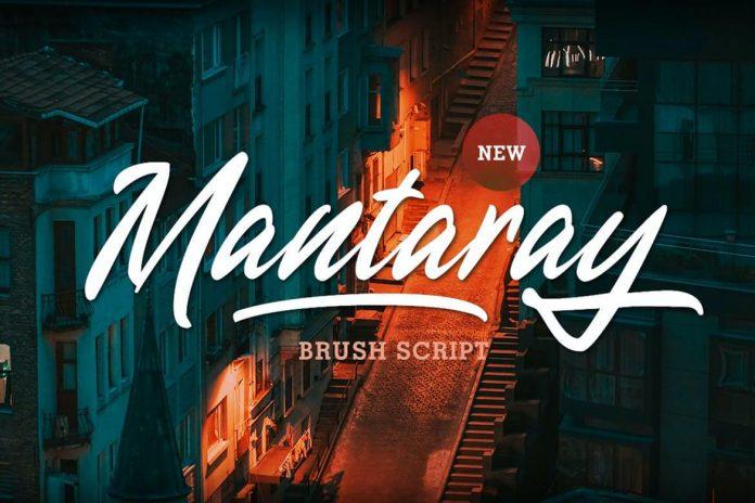 Mantaray - Brush Script