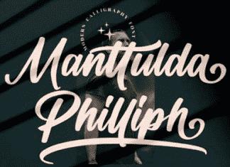 Manttulda Philliph Font