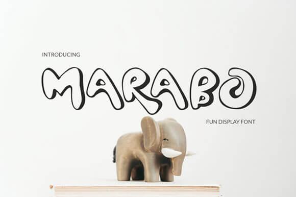 Marabo Font