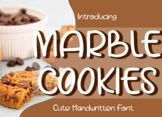 Marble Cookies Font