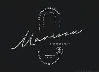 Marison Type Collection Font