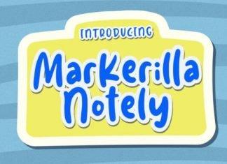Markerilla Notely Font