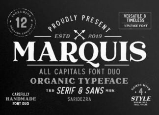 Marquis Duo Font
