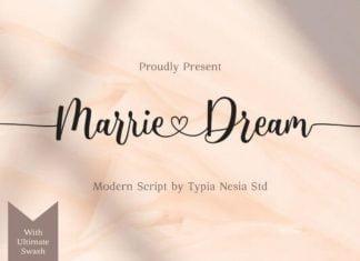 Marrie Dream Font
