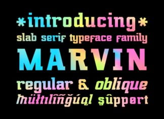Marvin Regular Font