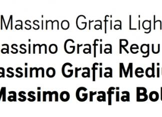 Massimo Grafia Font Family