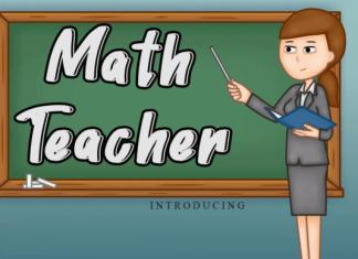 Math Teacher Font