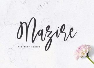 Mazire - A Beauty Script Font