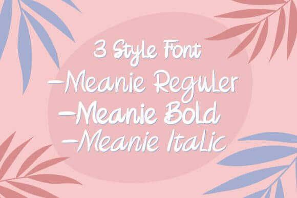 Meanie Font