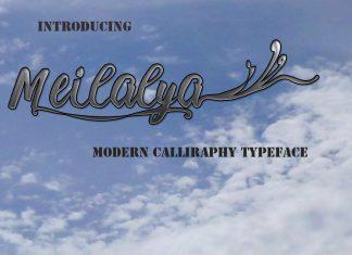 Meilalya Font