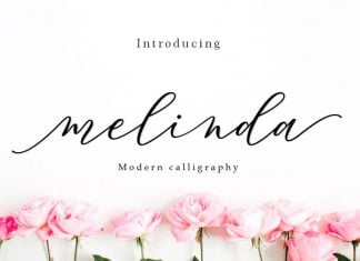 Melinda - Modern Calligraphy Font