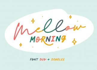 Mellow Morning Font Family