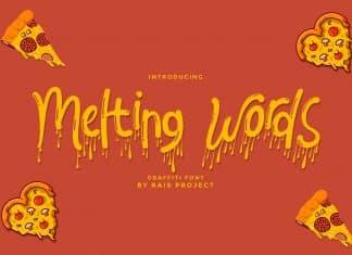 Melting Words Font