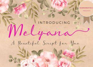 Melyana Font