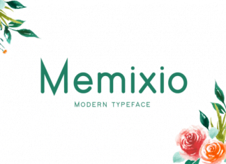 Memixio Font