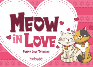 Meow in Love Font