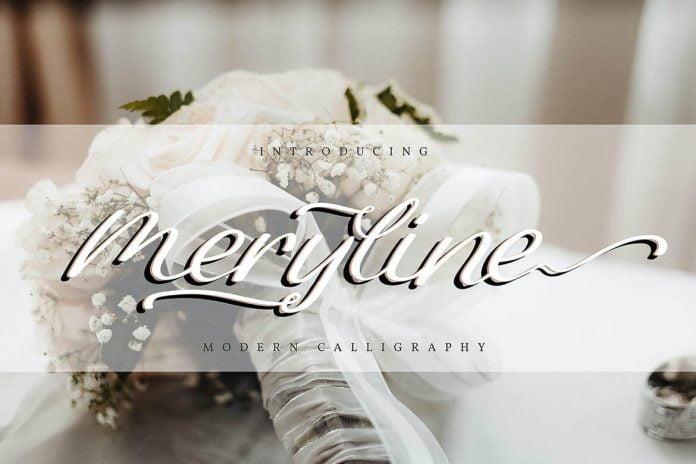 Meryline Modern Calligraphy