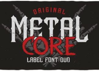 Metal Core Font