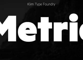 Metric Font