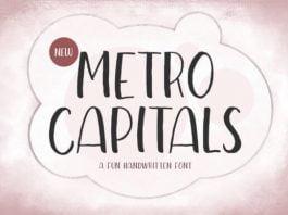 Metro Capitals Font