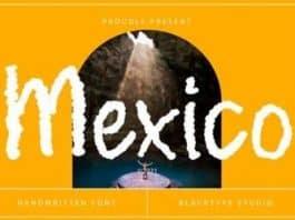 Mexico Font
