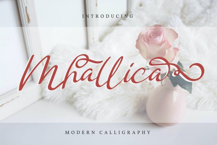Mhallica Modern Calligraphy Font