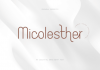 Micolesther Font