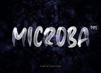 Microba Pro SVG Font