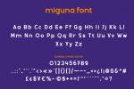 Miguna Font