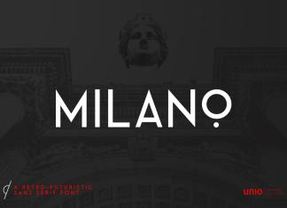 Milano Retro Futuristic Sans Font