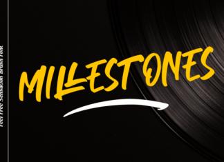 Millestones Font