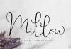 Millow Font