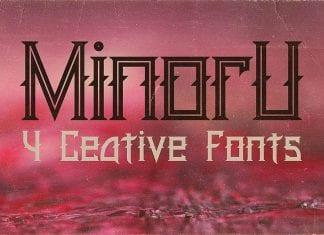 Minoru Font