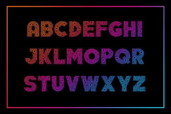 Minutiae Font