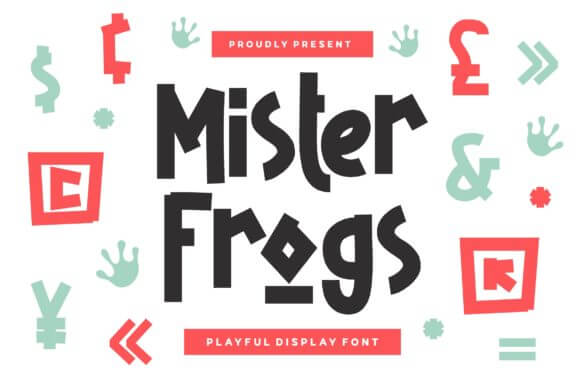 Mister Frogs Font