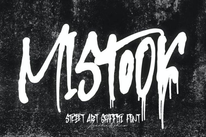 Mistook Font