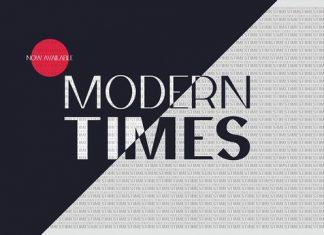 Modern Times Font
