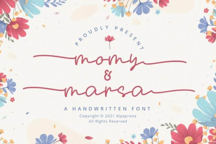 Momy & Marsa Font